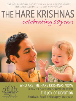 The award-winning The Hare Krishnas – Celebrating 50 years magazine.