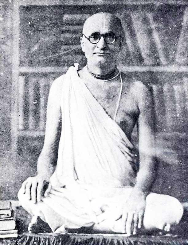 Srila Bhaktisiddhanta Sarasvati Thakura - 'The living encyclopedia'