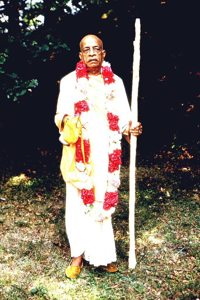 The fearless preacher, Senapati Bhakta, ISKCON's Founder-Acharya His Divine Grace A.C. Bhaktivedanta Swami Prabhupada.