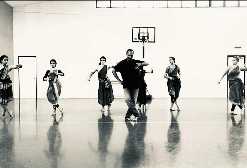 Master class in action under dance maestro Vishnu Tattva's expert guidiance.