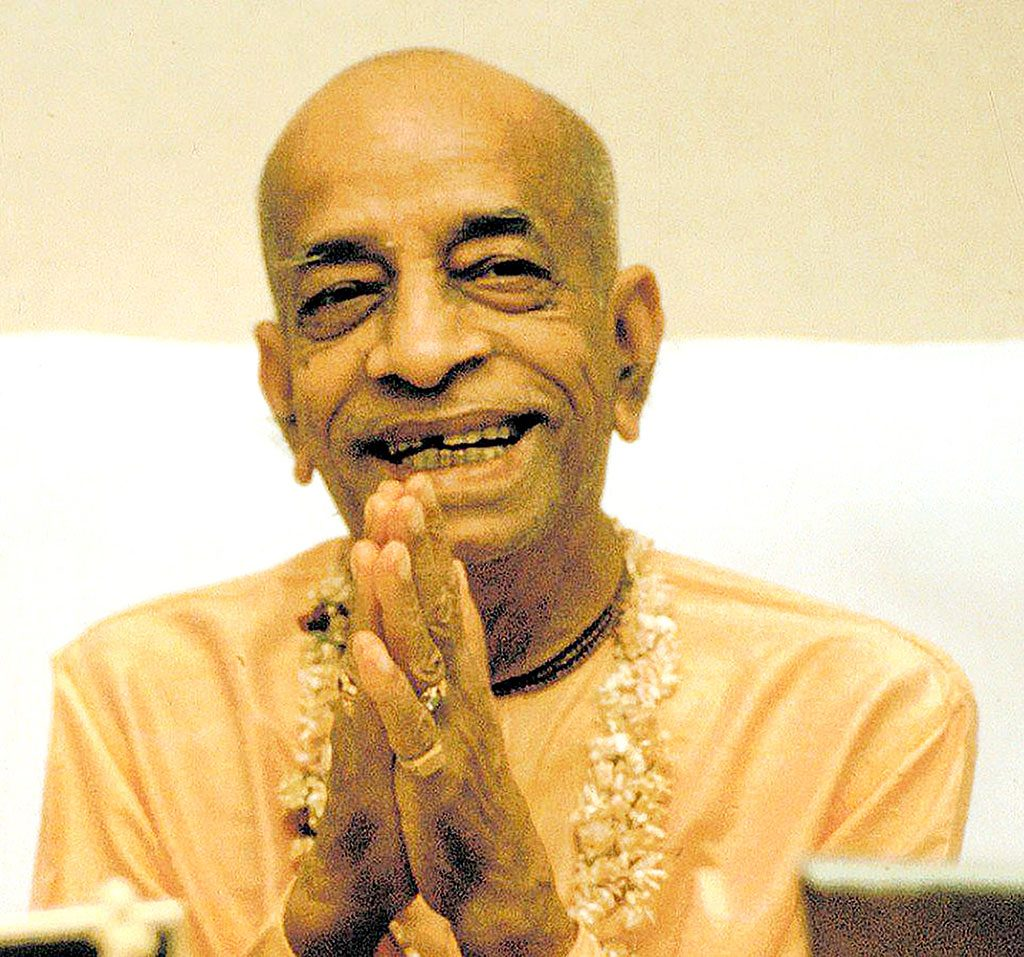 His Divine Grace A.C. Bhaktivedanta Swami Prabhupada, ISKCON's Founder-Acharya, and dearmost devotee of Lord Krishna