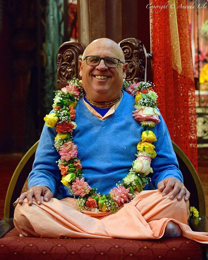 His Holiness Hridayananda dasa Goswami's vyasa puja will be celebrated at New Govardhana on 5 November. Everyone is welcome to attend.