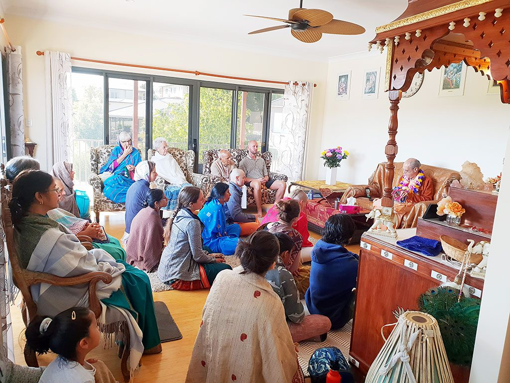 Home program at Kisori devi dasi and Nrsimhananda dasa's residence.