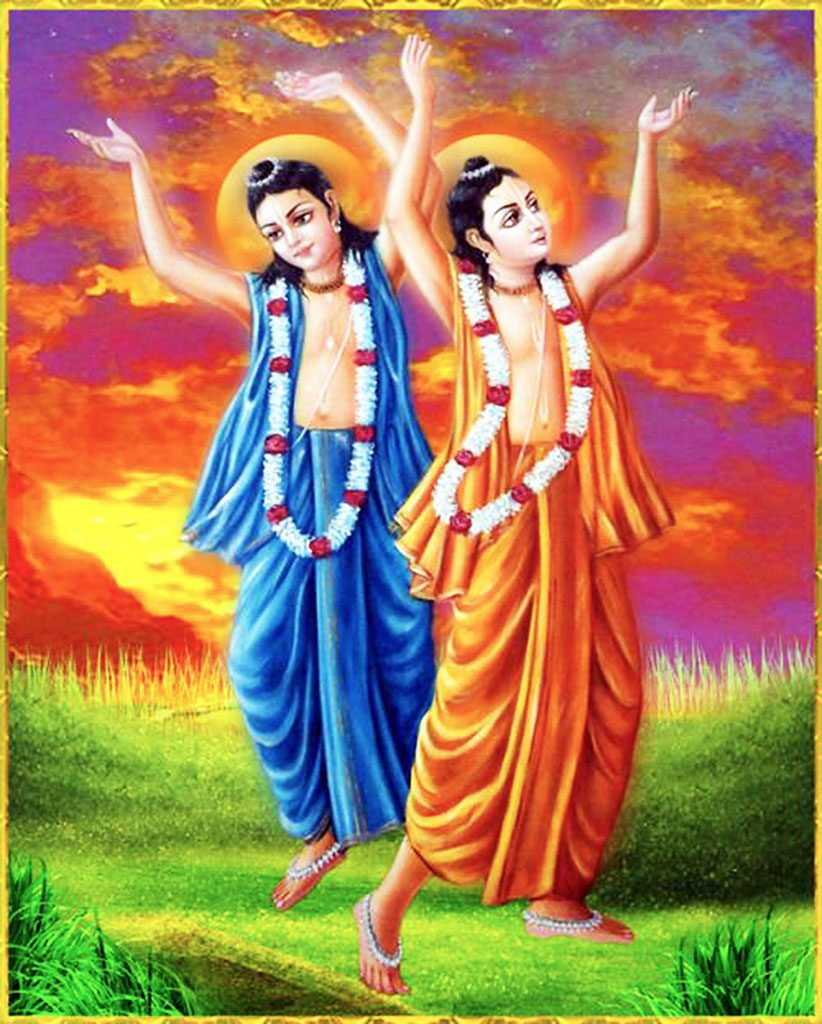 The unsurpassable sweetness of Lord Nityananda's dancing.