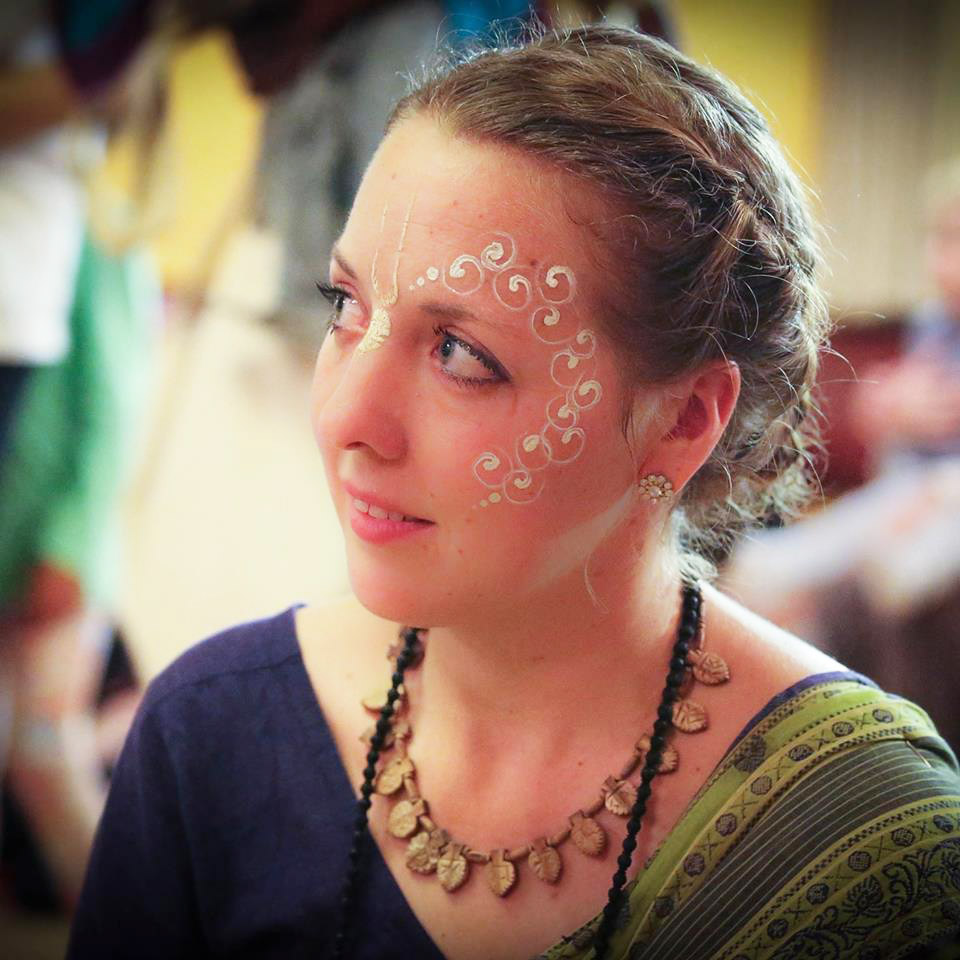 New Govardhana welcomes its latest resident, Anasuya dasi.