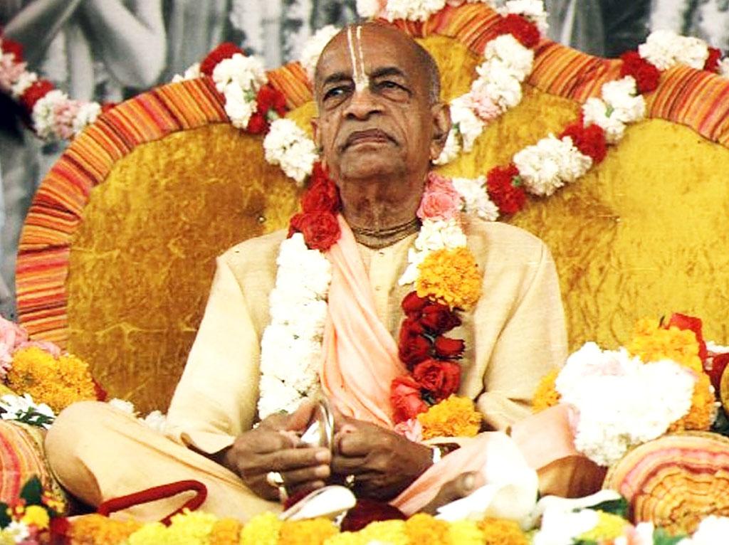 ISKCON's Founder-Acharya His Divine Grace A.C. Bhaktivedanta Swami Prabhupada