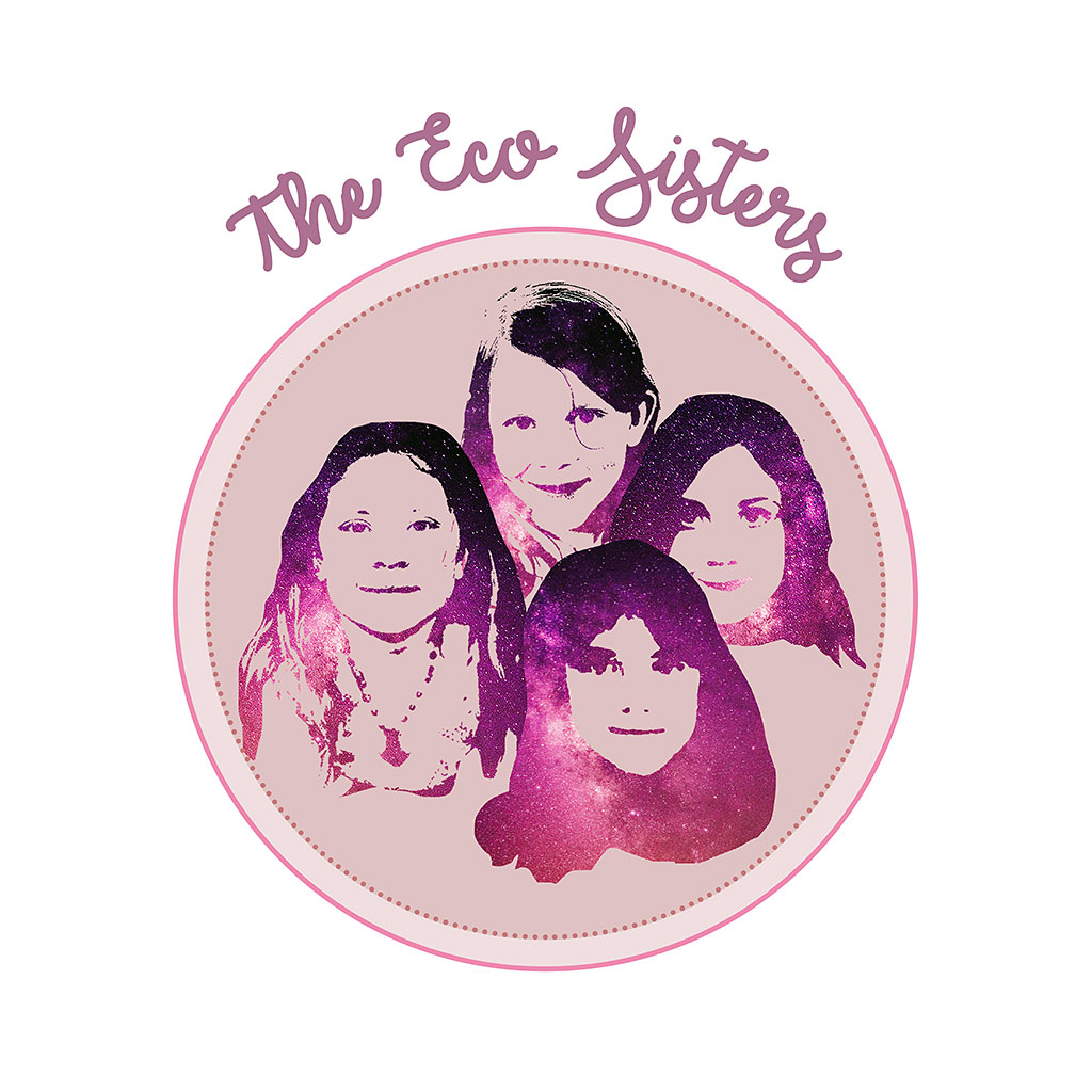 The logo for the young entrepreneurs, The Eco Sisters.