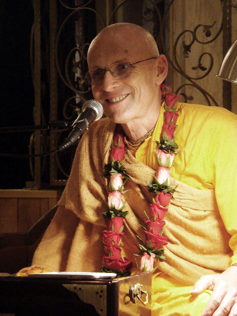 His Holiness Kadamba Kanana Swami is one of New Govardhana's highly respected guest speakers.